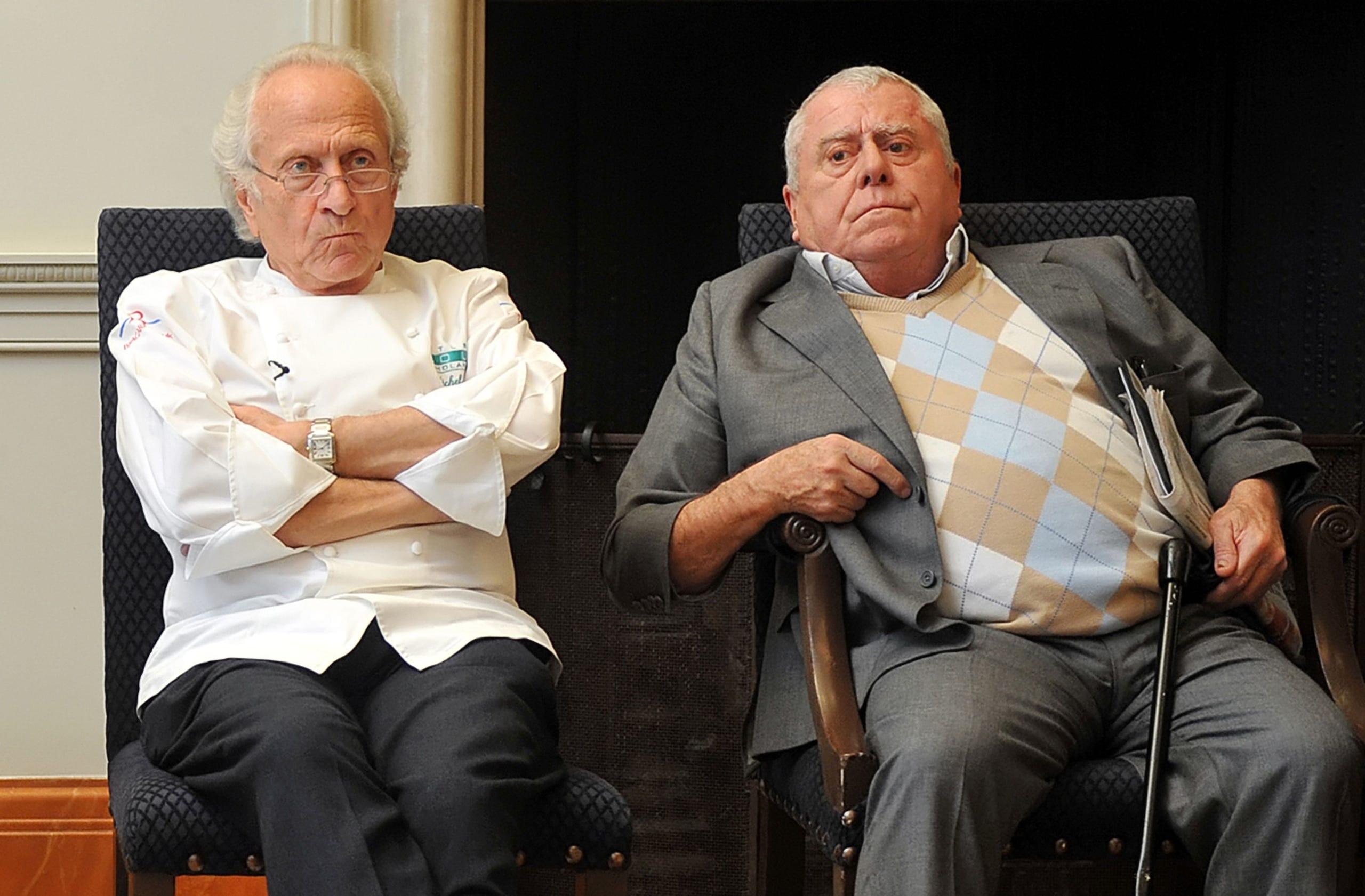 Michel and Albert Roux